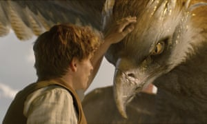 Eddie Redmayne in a scene from Fantastic Beasts and Where to Find Them.