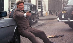 Harrison Ford as Jack Ryan in Patriot Games.