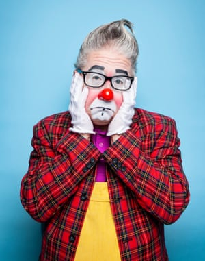 'The last few years haven't been the easiest of rides': Andrew Davis, president of the World Clown Association.