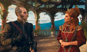 Subtle facial expressions and body language come into play ... Witcher 3