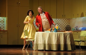 Falstaff … Ana Maria Martinez as Alice Ford with Bryn Terfel in the Royal Opera's production.