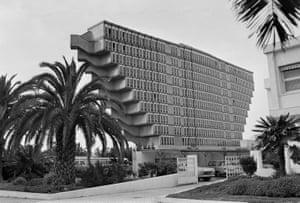 Under threat: The Hotel du Lac in Tunis in 1976