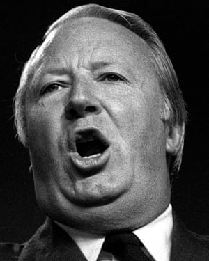 Sir Edward Heath, the former prime minister.