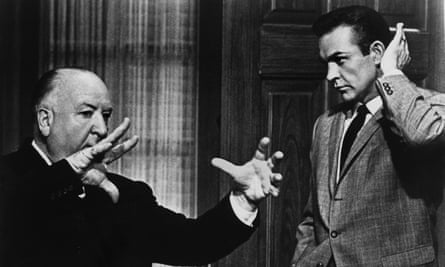 Connery and Alfred Hitchcock