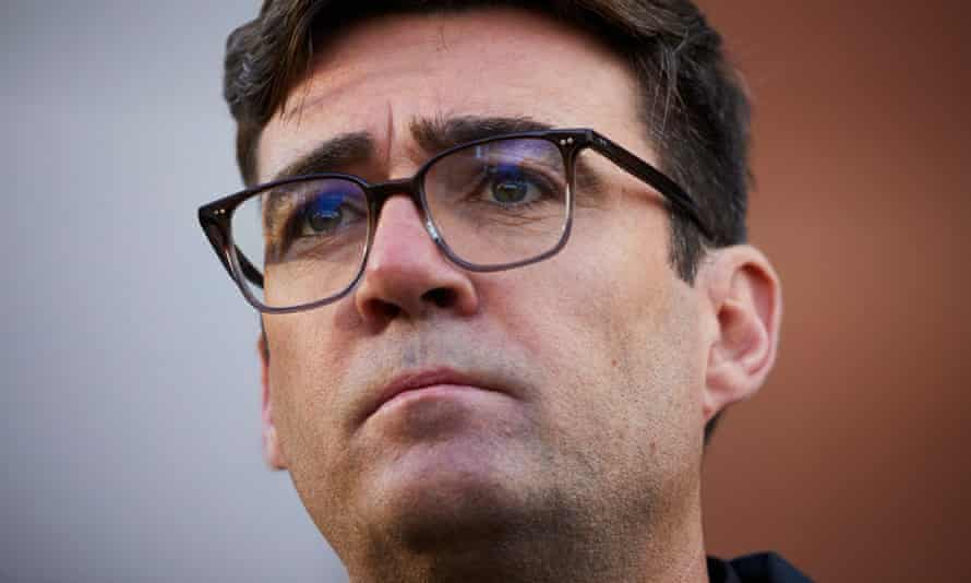 The mayor of Greater Manchester, Andy Burnham