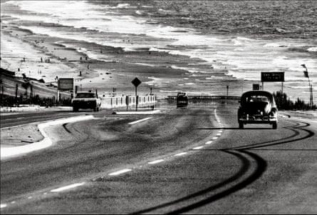 Lost highway … San Diego coastline, 1968.