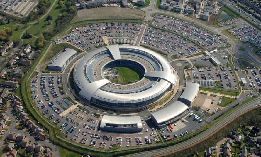 Britain's GCHQ building. British intelligence reportedly offered an important tip-off to the US regarding Russian involvement in the US election.