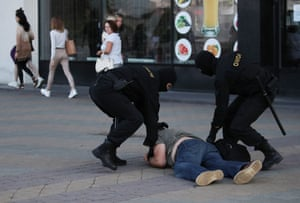Lukashenko, who is facing the worst crisis of his 26-years in power, claimed that the protests were being directed from abroad, singling out Poland, Britain and the Czech Republic.