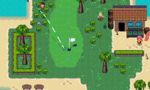 Golf Story on Nintendo Switch.