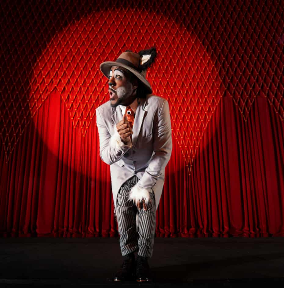 Kat B as Uncle Vincent the Cat in Dick Whittington, photographed Nov 2020