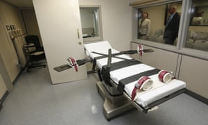 The death chamber at the Oklahoma state penitentiary in McAlester. Any attempt to change the method used to execute inmates in Oklahoma is certain to trigger a flurry of legal challenges.