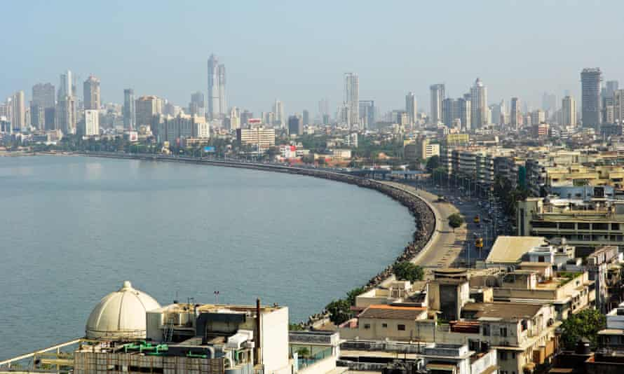 Skyline of Mumbai