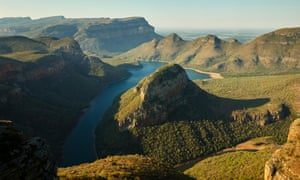The Blyde River Canyon, 490km from Johannesburg and en route to Kruger national park.