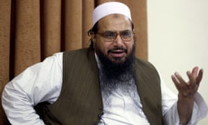 Hafiz Saeed, the leader of Jamat-ud-Dawa wanted by the US.