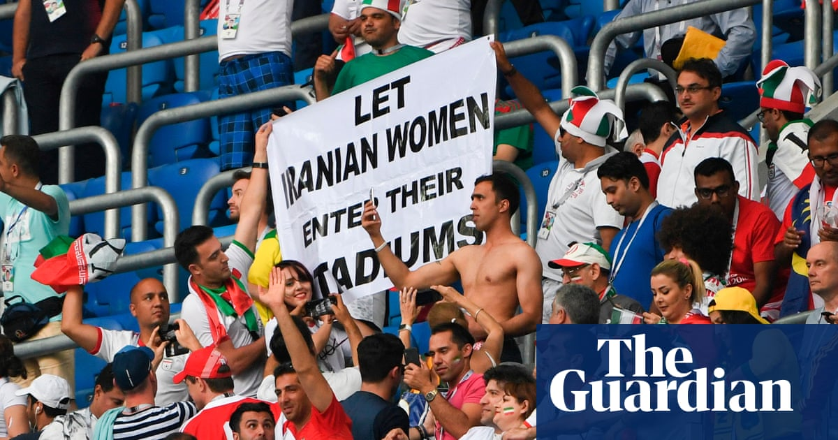 Maryam Shojaei helps Iran's female football fans carry fight for admission | Suzanne Wrack