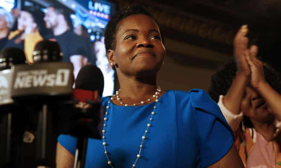 India Walton is Buffalo's Democratic mayoral primary candidate.