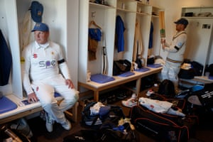 Chris Bleazard (left) has played for Lowerhouse for 36 years and has over 16,000 runs.
