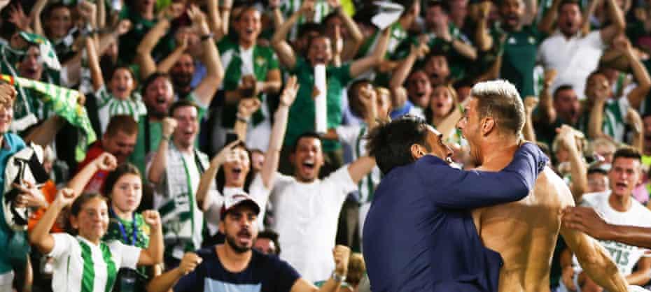 Joy for Betis.