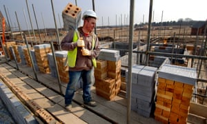 House building figures are down.