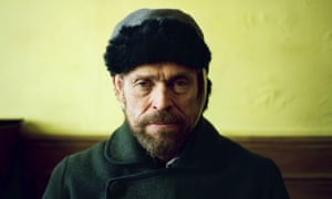 Willem Dafoe in At Eternity's Gate.
