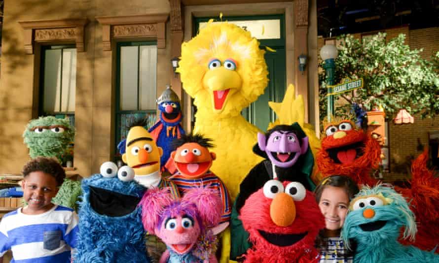 Sesame Street cast
