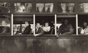 Trolley, New Orleans, 1955, from The Americans … an image from the exhibition Robert Frank: Unseen at C/O Berlin Foundation, Berlin, from 13 September until 30 November.