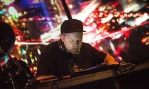 A set by DJ Shadow in Glasgow.