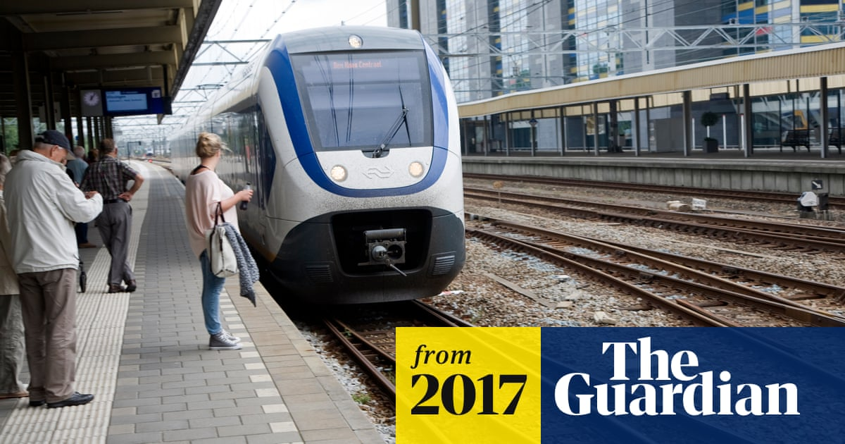 Dutch Electric Trains Become 100 Powered By Wind Energy