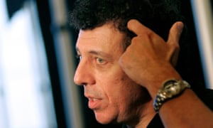 'I was with the guys who wore black and shoved' … Eric Bogosian.