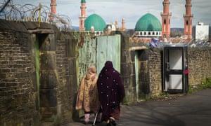 The Suffa Tul Islam Central Mosque in Bradford