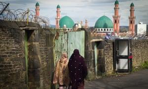 The Suffa Tul Islam Central Mosque in Bradford.