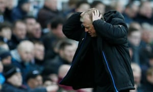 Steve McClaren can barely bring himself to watch as his side slide to yet another defeat against Bournemouth.