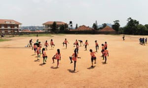 In Kampala, Uganda, football being used to teach children about sexual health