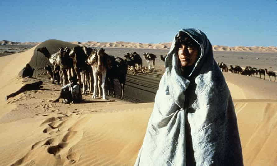 Harsh emptiness … Debra Winger in Bernardo Bertolucci's 1990 film of The Sheltering Sky.