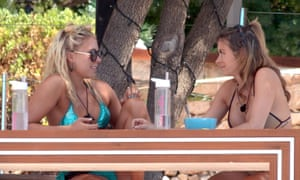 Water bottles were a big fixture in the Love Island villa this year.