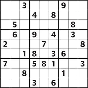 Sudoku 4004 hard 10.03