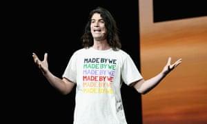 'Calling him a huckster is too simplistic' ... WeWork's founder, Adam Neumann.