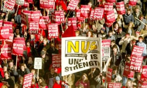 Student demonstration against tuition fees