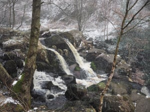 Torrents above Posforth Force in the Valley of Desolation