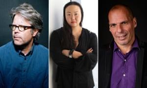 Jonathan Franzen, Hanya Yanagihara and Yanis Varoufakis are in Australia for the Sydney writers' festival