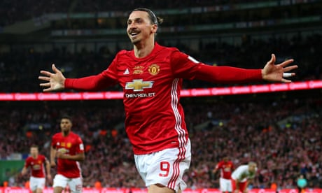 Zlatan Ibrahimovic says 'I am a lion' after Manchester United Wembley heroics