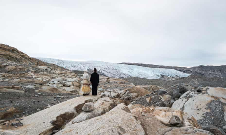 Poets Aka Niviana and Kathy Jetnil-Kijiner in Greenland
