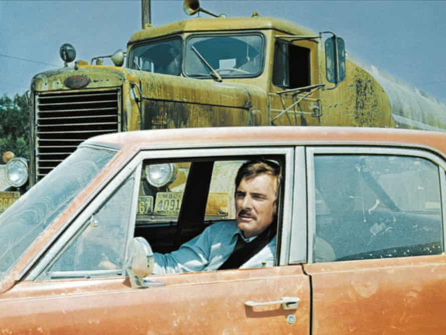 Dennis Weaver in Spielberg's 1971 film Duel