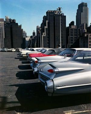 Car park, 1964, New York