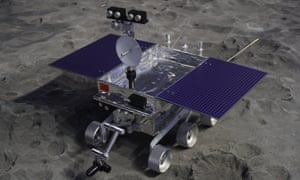 Chang'e 4 on the moon