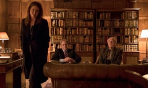 Robin Weigert as Heather, Colin Stinton as Jack and Michael Gambon as Sir Alastair.
