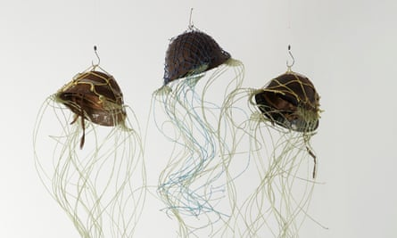Aly de Groot's installation The Jellyfish Wars