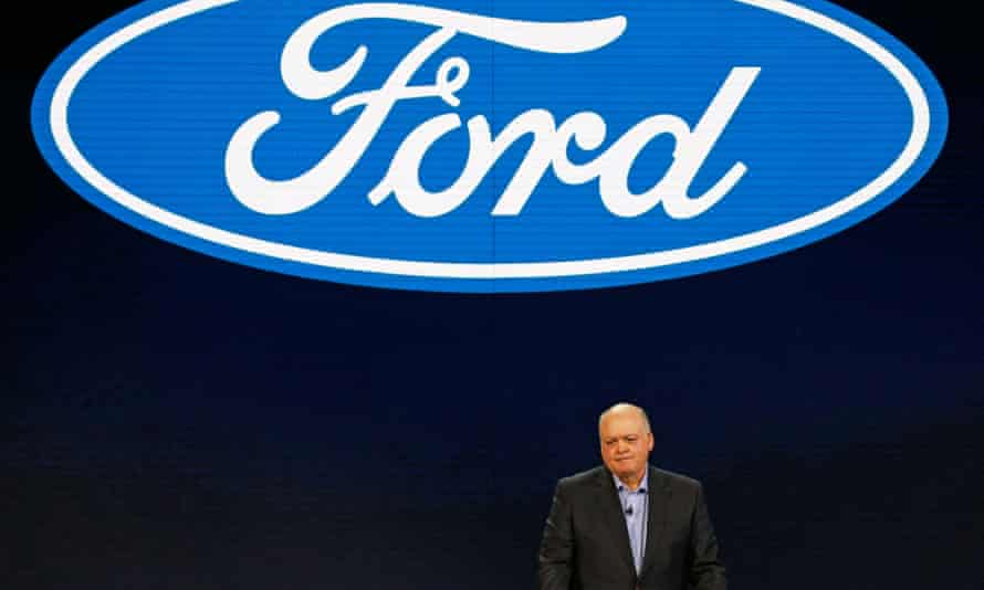 Jim Hackett, President and CEO of Ford Motor Company