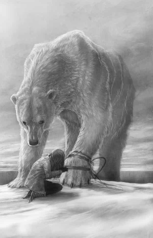 One of Levi Pinfold's illustrations for The Last Bear by Hannah Gold.