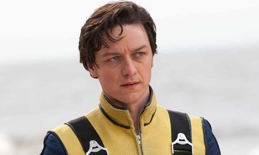 James McAvoy in X-Men: First Class (2011)
